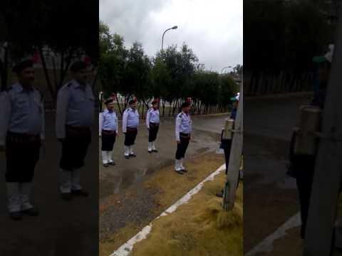 68th republic day celebration at adani agri fresh ltd Sainj site-II