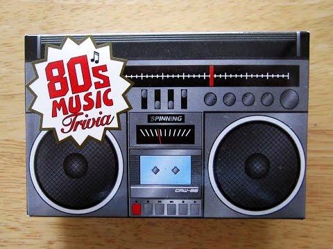 80's Music Trivia Game (#1) aka Beat Shazam