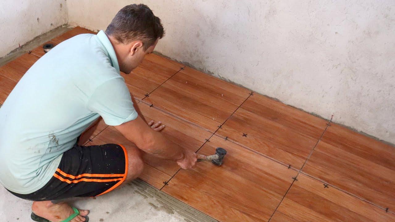Como Colocar Cerâmica Instalação Simples  Completo  Dicas do Fernando