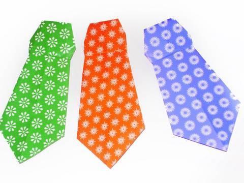 Manualidades de origami: corbata facilisima - manualidadesconninos ...