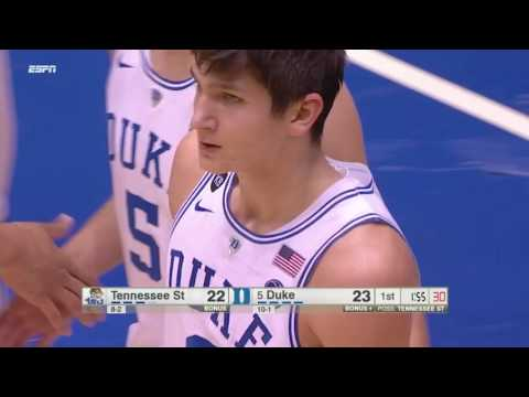 Grayson Allen doesn't get touched on this foul call in win