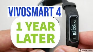 Garmin Vivosmart 4 - Why I Keep Coming Back To It - 2019 Update
