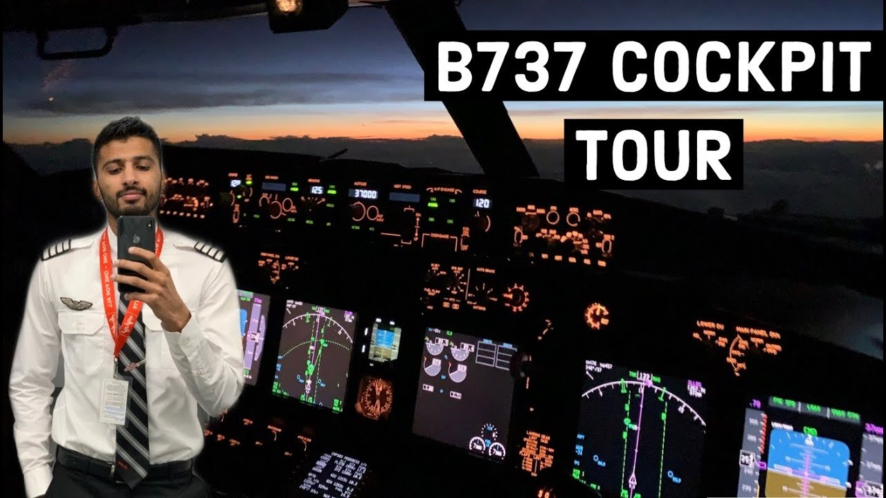 A DETAILED TOUR OF THE B737 COCKPIT