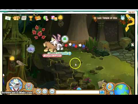 Animal Jam: Journey Book(Lost Temple Of Zios)