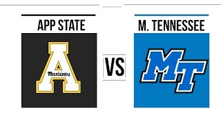 Download Video 2018 New Orleans Bowl Middle Tennessee vs Appalachian State Full Game Highlights MP3 3GP MP4