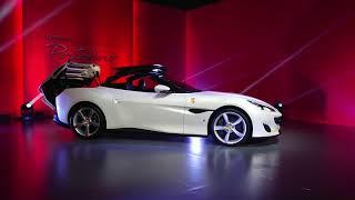 2019年2月に行われたフェラーリの新モデル「ポルトフィーノ」のジャパン...