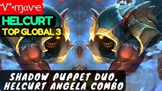 Shadow Puppet Duo, Helcurt Angela Combo [Top Global 3 Helcurt] | Ꮙ•...