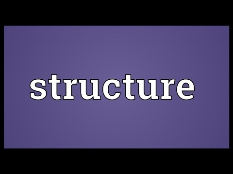 Structure Meaning