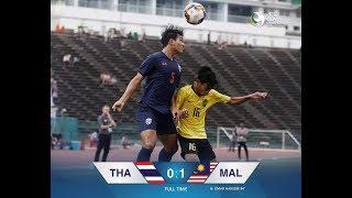MALAYSIA  Vs THAILAND U19(1-0)Highlights & Goals ● AFC U19 Championship 2020 Qualifiers