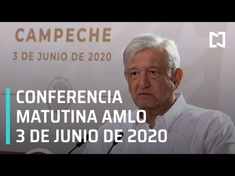 Conferencia matutina AMLO/ 3 de junio de 2020