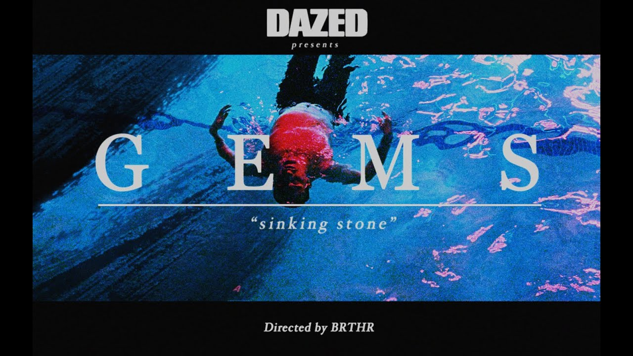 GEMS - Sinking Stone (Official Video) - YouTube