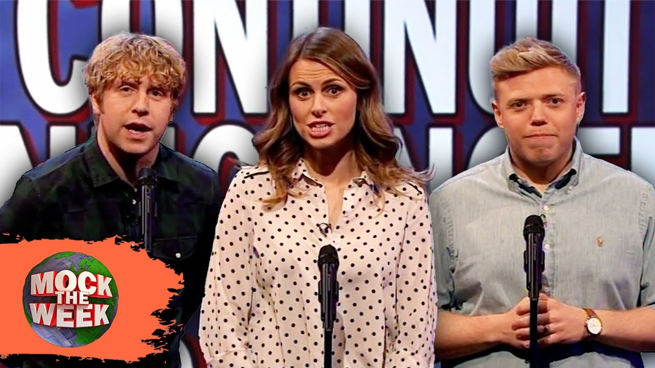 Unlikely Things For A Continuity Announcer To Say | Mock The Week