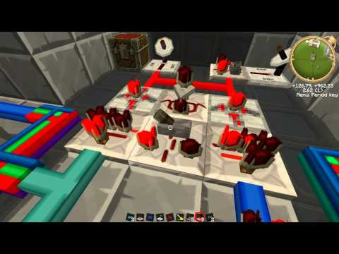 Tekkit Ep12  - BuildCraft Power Station - Explosion proof Combustion Engines