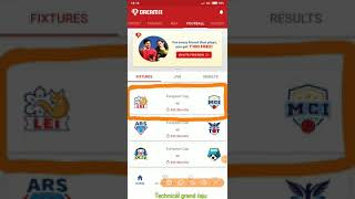 LEI vs MCI ||Leicester city vs Manchester City Dream11 team|Today Football match Tips/Update/preview