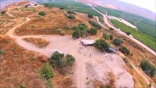 Quick flyover of Tel Abel Beth Maacah (Israel)