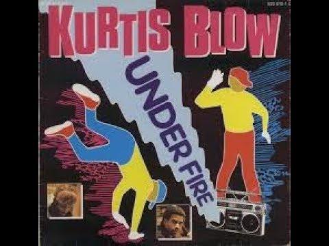 Curtis Blow  -  Under Fire   VINYL  1984