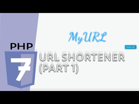 Create a URL Shortener (Part 1) - PHP In Action