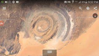Video Eye Of The Sahara Google Earth download MP3, 3GP, MP4, WEBM, AVI, FLV Agustus 2018