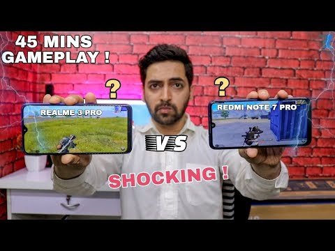 Realme 3 Pro vs Redmi Note 7 Pro - Gameplay Test | With Battery & Heat Check 🔥💪