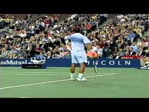 Sampras  Roddick  US OPEN 2002  Highlights