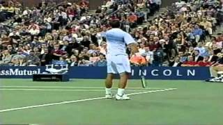 Sampras - Roddick - US OPEN 2002 - Highlights