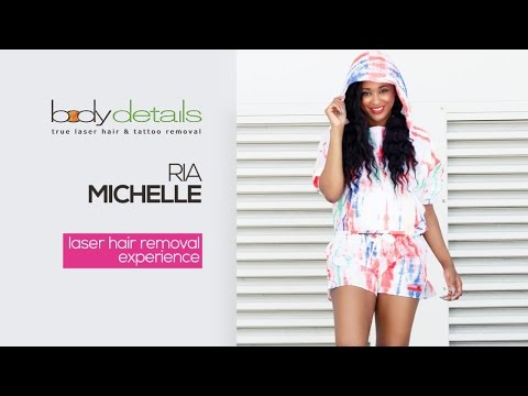 Laser Hair Removal for Dark Skin Tones | Ria Michelle | Body Details