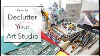How to Declutter Your Art Studio E5, S1 of *Open Studio*