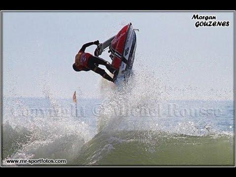 Jet ski Freeride méditerranée (superjet stock)