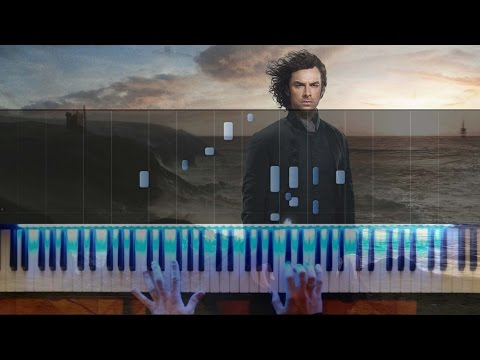 Poldark Main Theme - Anne Dudley - Piano Synthesia