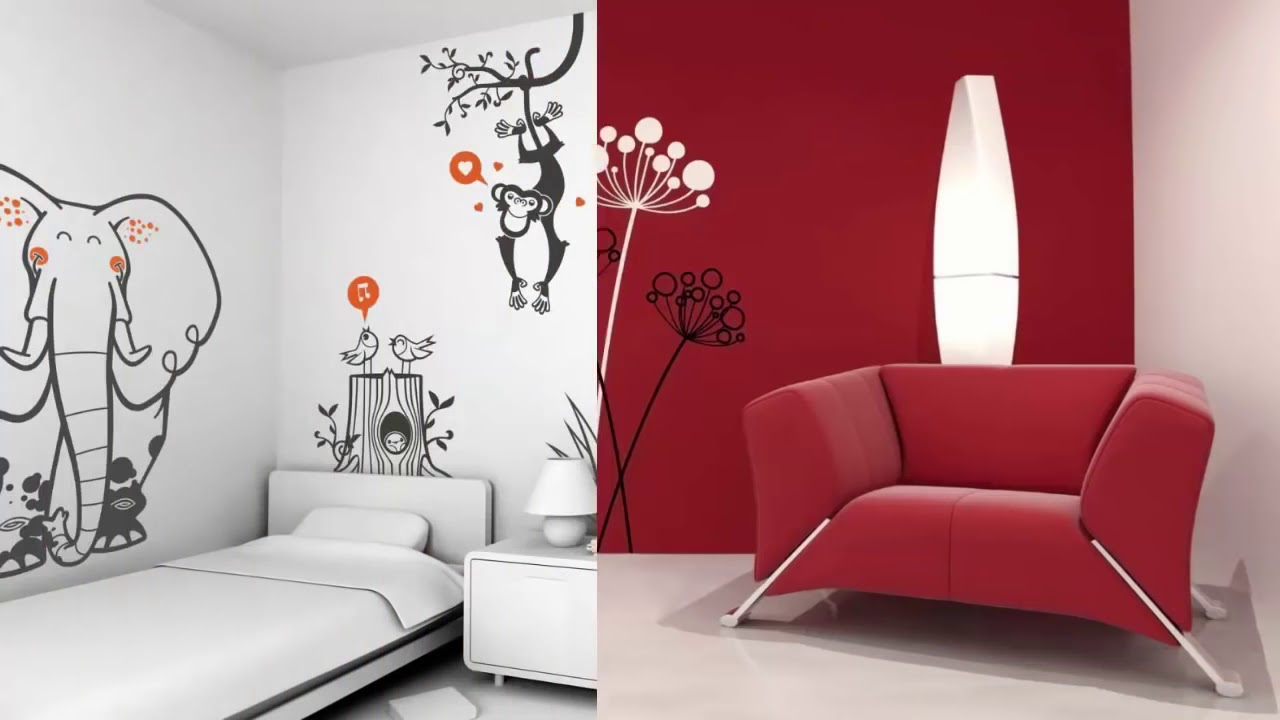 44 diy wall stencils ideas easy home decor youtube 44 diy wall stencils ideas easy home decor amipublicfo Images