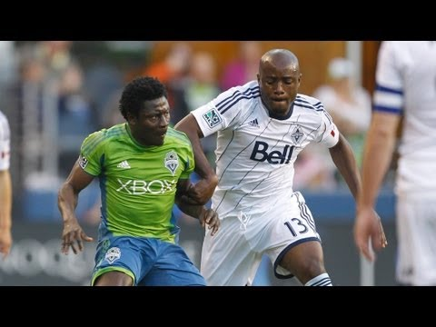 HIGHLIGHTS: Seattle Sounders vs Vancouver Whitecaps | June 8, 2013