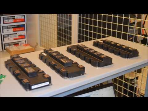 Automated Characterization of High Power Density IGBT Modules
