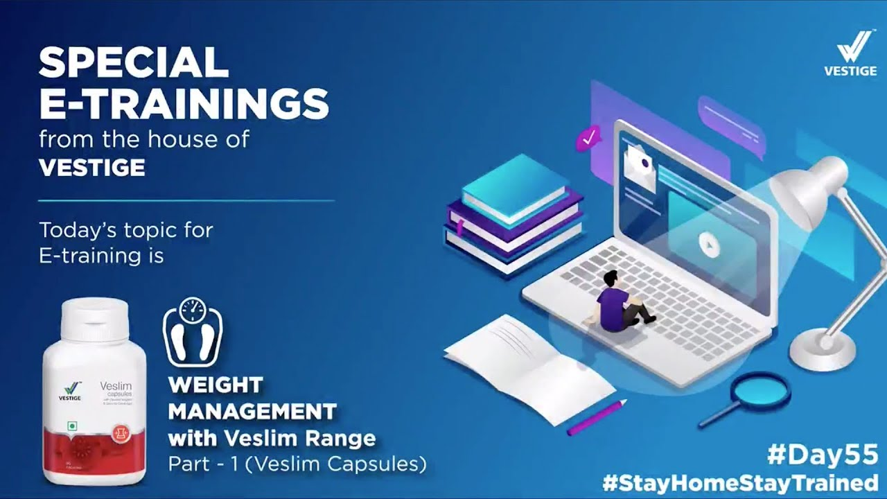 Day #55 Product E -Training – Weight Management with Veslim Range Part 1