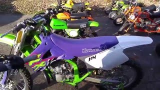 The Collection !!     Mini bikes, Dirt bikes and Scooters ! Oh my !