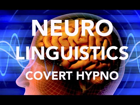 NEURO LINGUISTIC PROGRAMMING:  COVERT HYPNOSIS: WHAT IS IT?