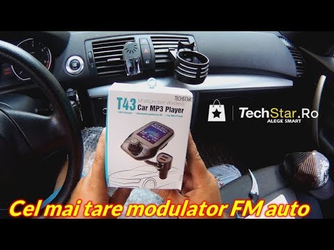 Am primit cel mai tare Modulator FM pentru masina
