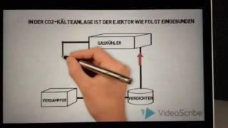 Ejektor Kälteanlage refrigeration system