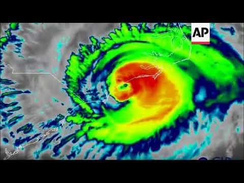 Florence batters North Carolina with wind, rain