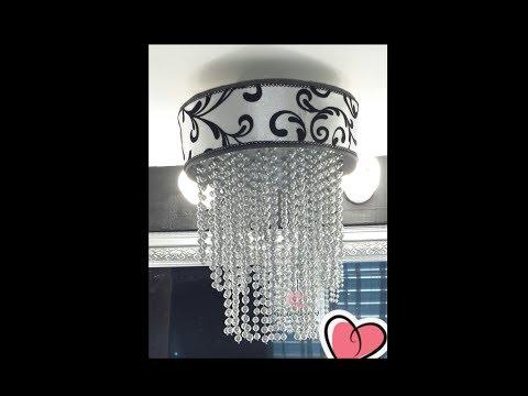 DIY Candelabro / Chandelier - YouTube
