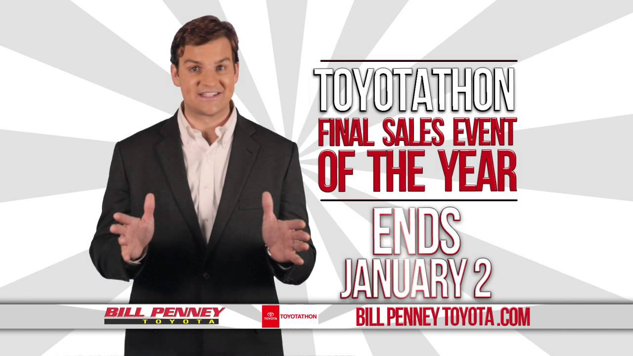 Captivating Toyotathon Sales Event   Bill Penney Toyota   Huntsville, AL   YouTube