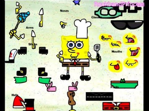 Spongebob Dress Up Games Online
