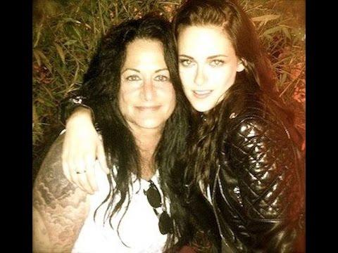 Kristen Stewart With Her Family