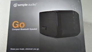 Simple Audio Go™ Portable Mini Bluetooth Speaker Unboxing & Review