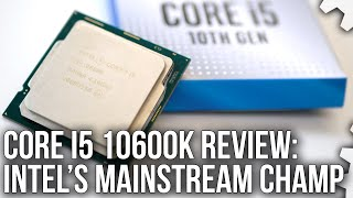 Download lagu Intel Core i5 10600K Review vs Ryzen 5 3600X / Ryzen 7 3700X - Gaming Benchmarks + Stress Tests