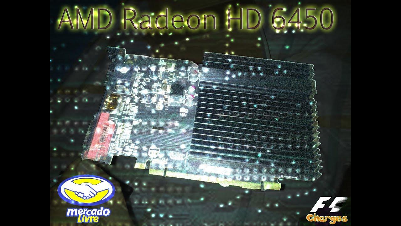 Amd (ati) Radeon Hd 6450 Ddr3 64bits 2gb *loucura*