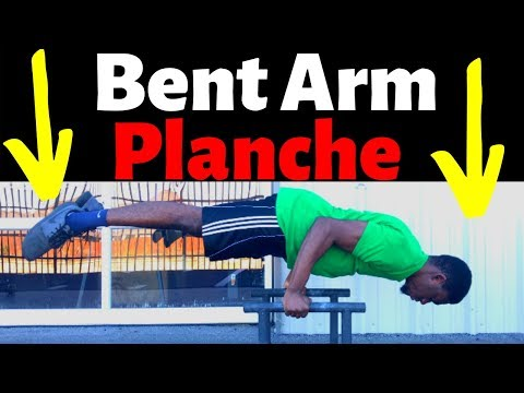 Bent Arm Planche | Easy to Learn Tutorial thumbnail