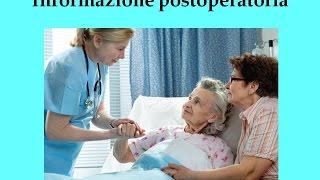 Informazione postoperatoria nella one day surgery