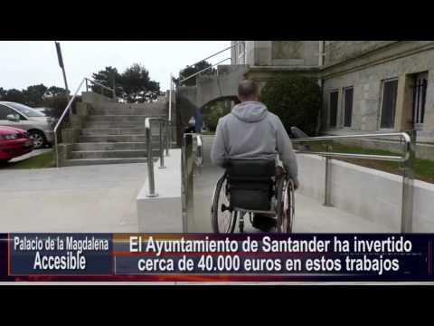 Mejoras de accesibilidad en el Palacio de la Magdalena