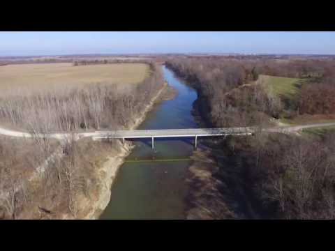 Chariton River Drone Flight - Keytesville, MO  December 2nd, 2016