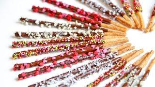 Как сделать СОЛОМКУ в ШОКОЛАДНОЙ ГЛАЗУРИ | PEPERO(Очень оригинальный рецепт, как самим приготовить хрустящую соломку PEPERO в шоколаде, использую минимум ингре..., 2016-01-26T06:00:00.000Z)